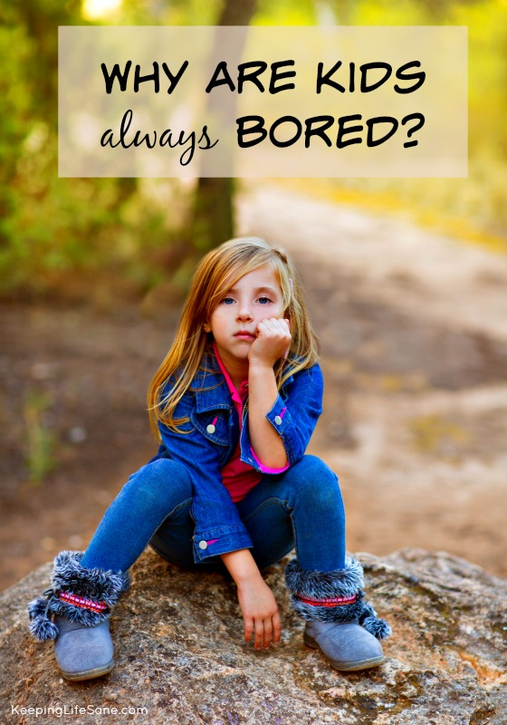 No, you're not bored