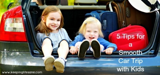 5 tips for a smooth car trip with kids