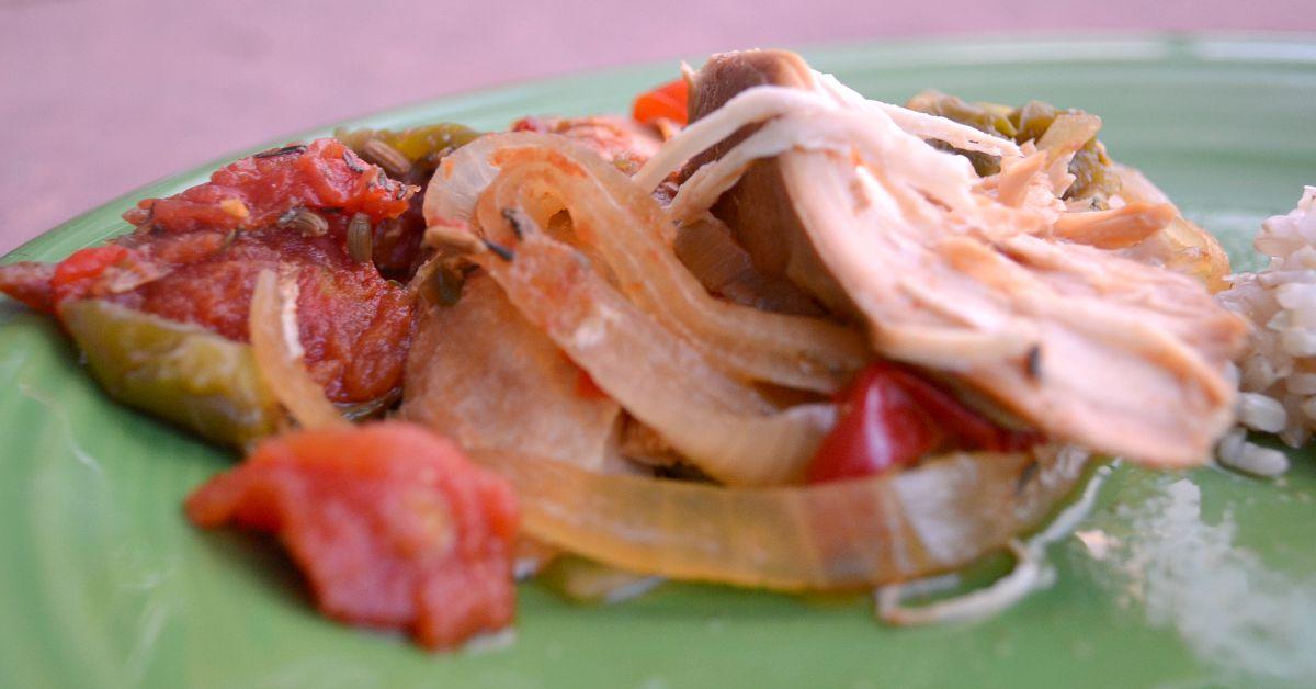 Slow Cooker Italian Chicken