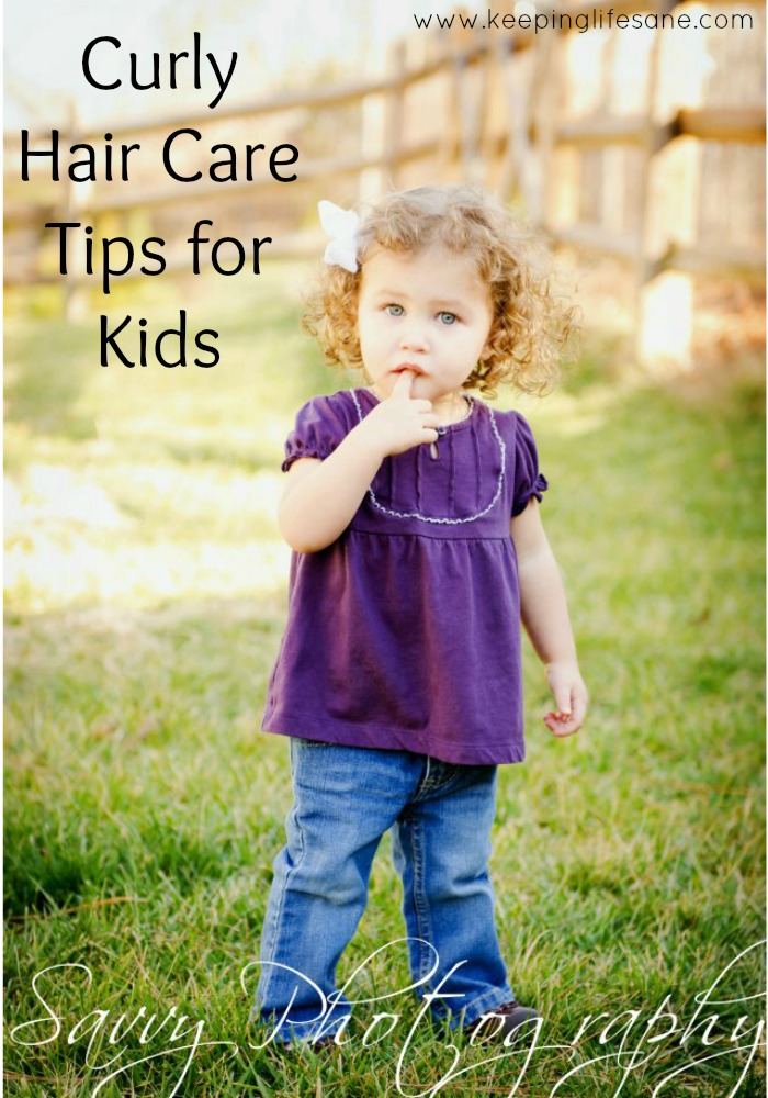 Curly Hair Care Tips for Kids