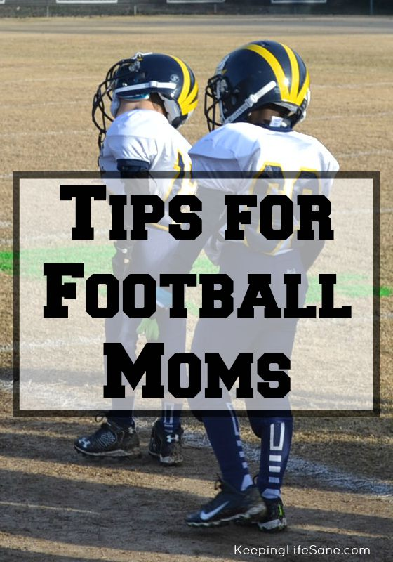 It's football season so grab these tips for football moms! It's just a few things to help you are your kids kid through the season!