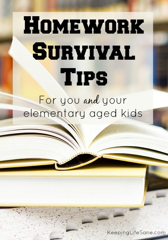 Homework Survival Tips