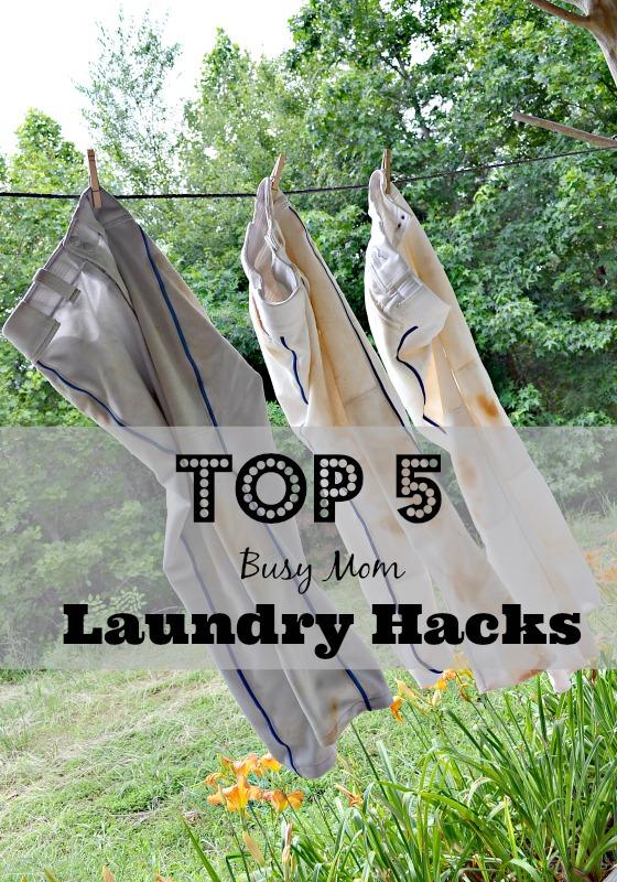 Top 5 Busy Mom Laundry Hacks