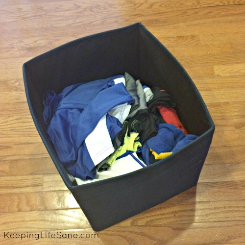 Organize your small laundry room