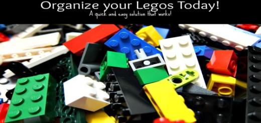 Organizing your Legos