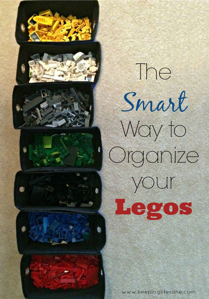 Organize your Legos