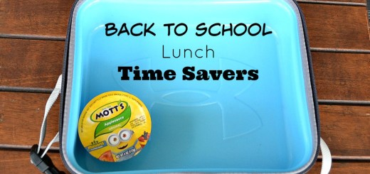 Back to School Lunch Time Savers
