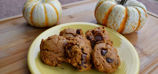 Chocolate Pumpkin Cookies
