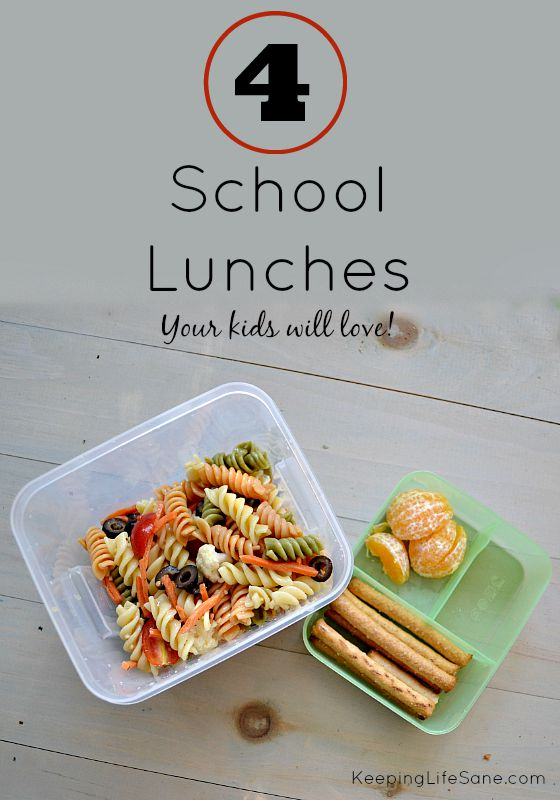 School Lunches Your Kids Will Love