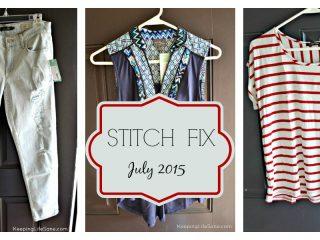Stitch Fix Review- July 2015