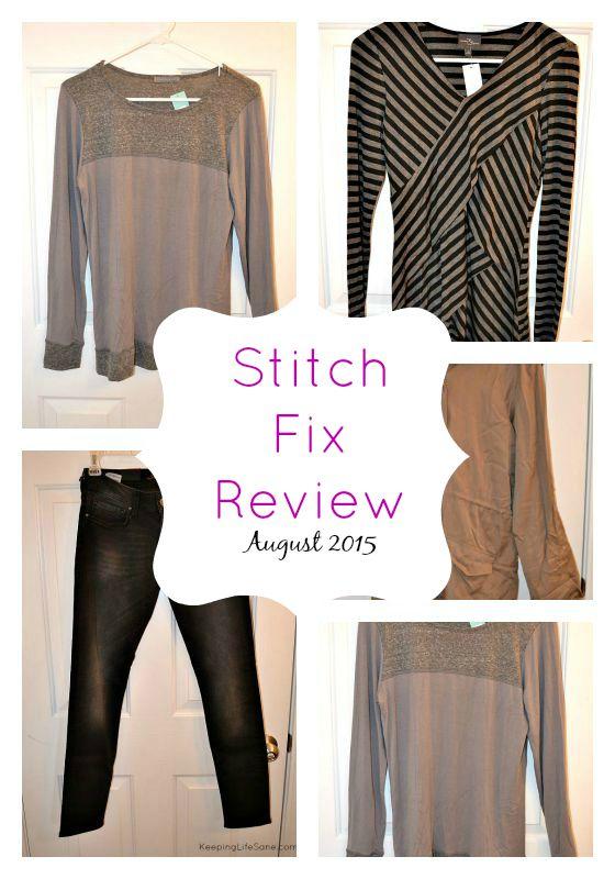 Stitch Fix Review- August 2015