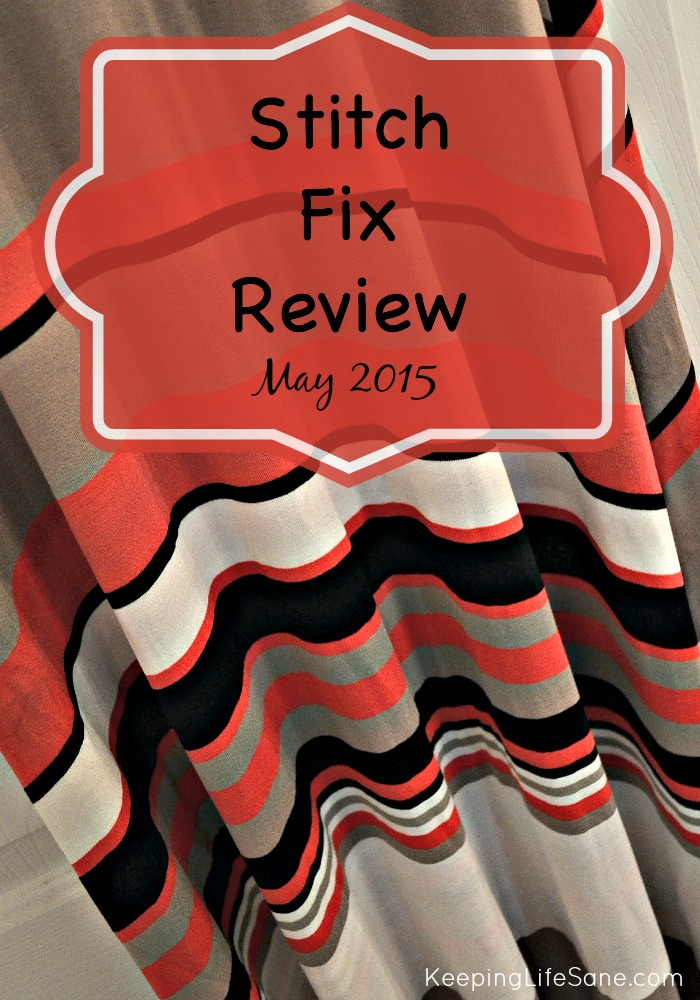 Stitch Fix May 2015