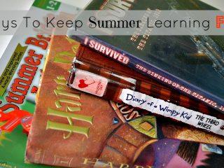 Ways to Keep Summer Learning Fun