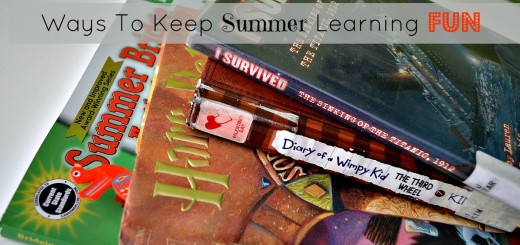 Ways to Keep Summer Learning Fun