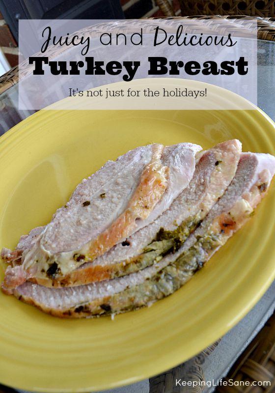 Juicy and Delicious Turkey Breast