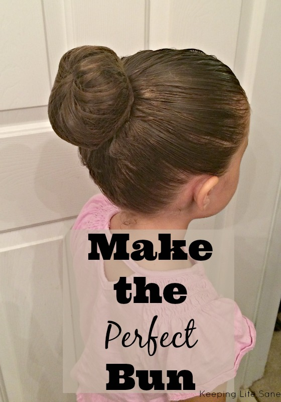 Make the Perfect Bun