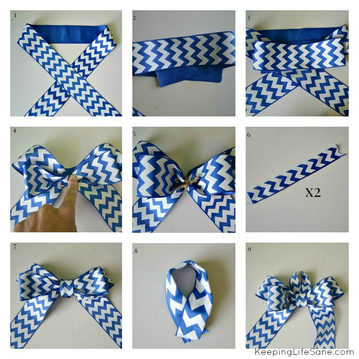ribbon Collage Finished