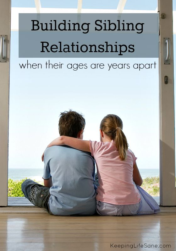 Building Sibling Relationships