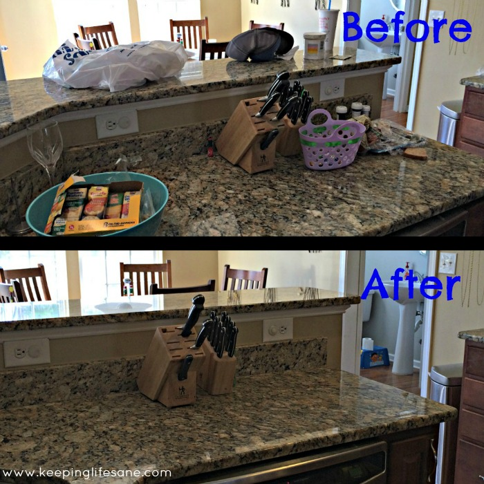 How I trick my husband into thinking I cleaned!