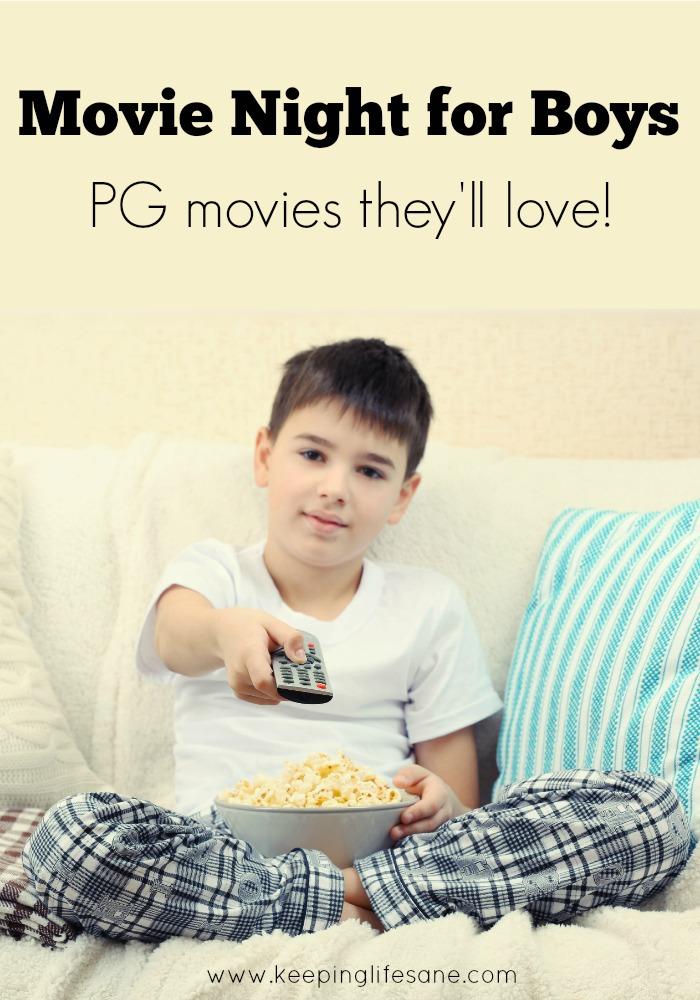 Movie Night for Boys