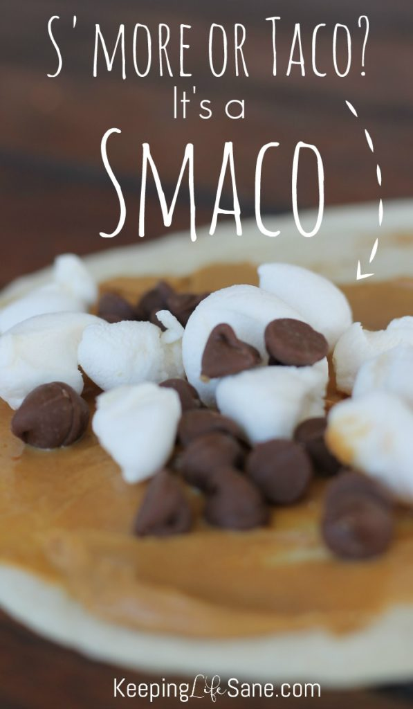 Are you looking for a new camping dessert? These smacos are the best and easiest dessert for you family to make. Even your kids can make their own.