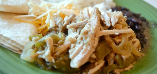 Slow Cooker Pork Salsa Verde