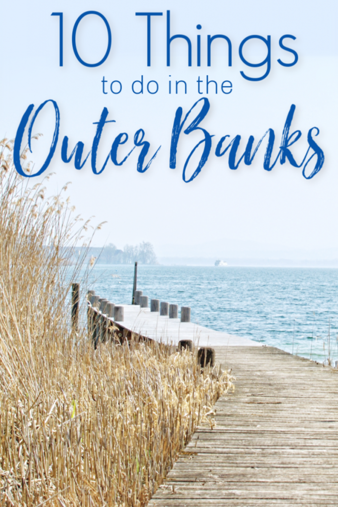 Are you thinking about heading to the Outer Banks for vacation this year? It's a great place to visit and here are the 10 Things you MUST see in the Outer Banks.