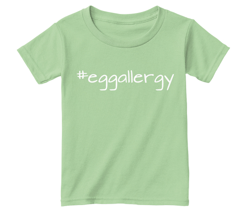 #eggallergy #Tee #Toddler #Toddlertee #Foodallergies