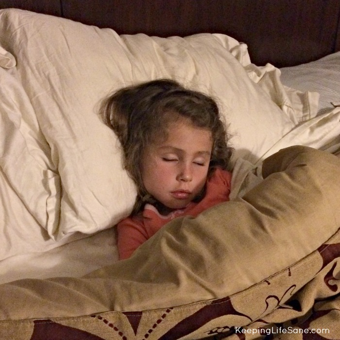Should I let my child get into my bed?