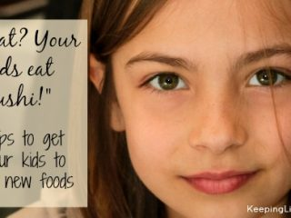 Tips to get your child to eat new foods