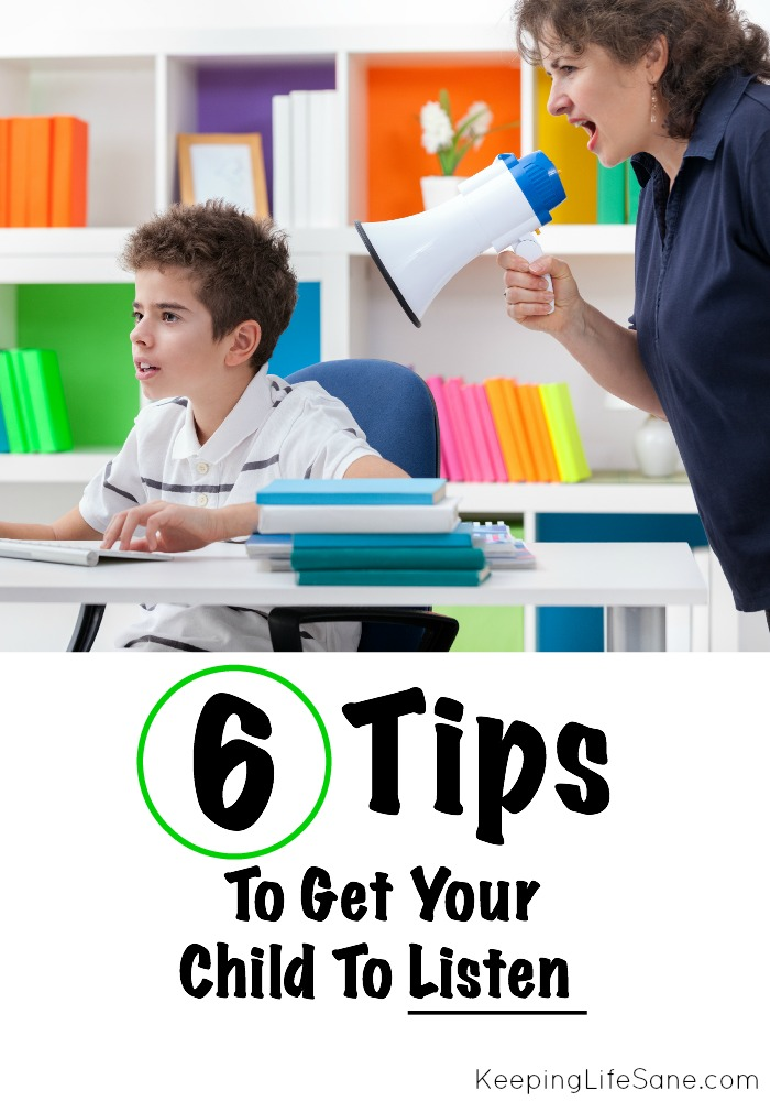 Tips to get your Child to Listen