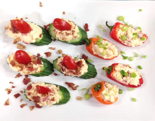 Light Pimiento with Bacon