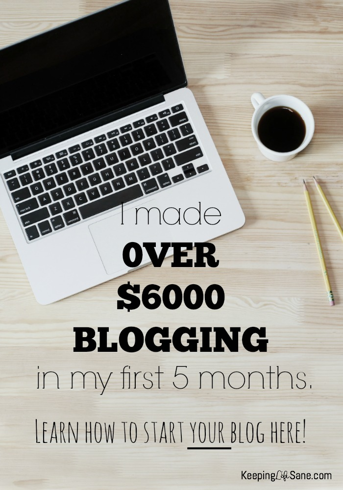 Starting a blog can be intimidating, but you can do it and make money at it!