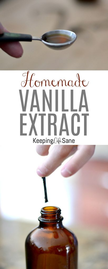 You may be wondering how to make homemade vanilla extract. It's so simple and using only 2 ingredients, you can have your own for baking or gift giving.