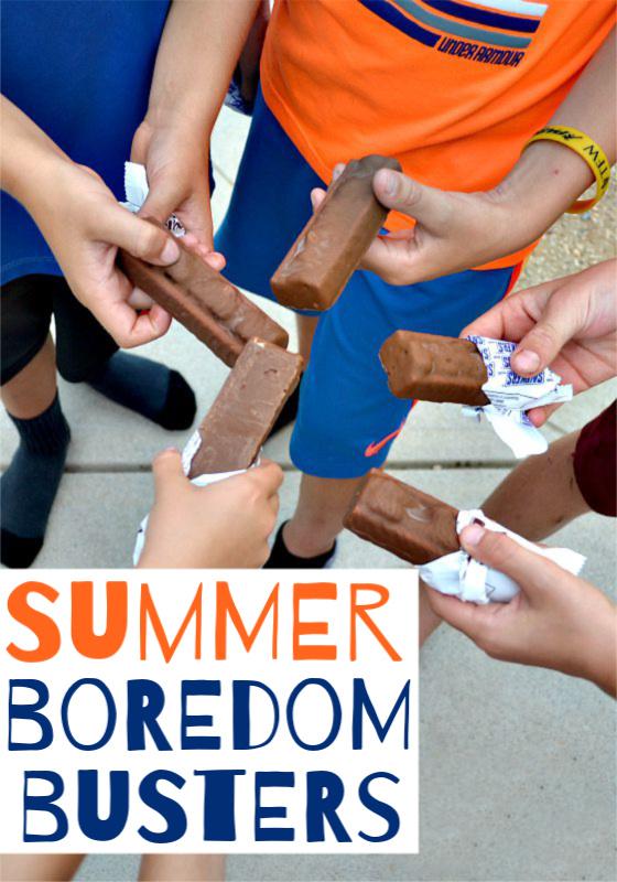 Hands holding ice cream bars