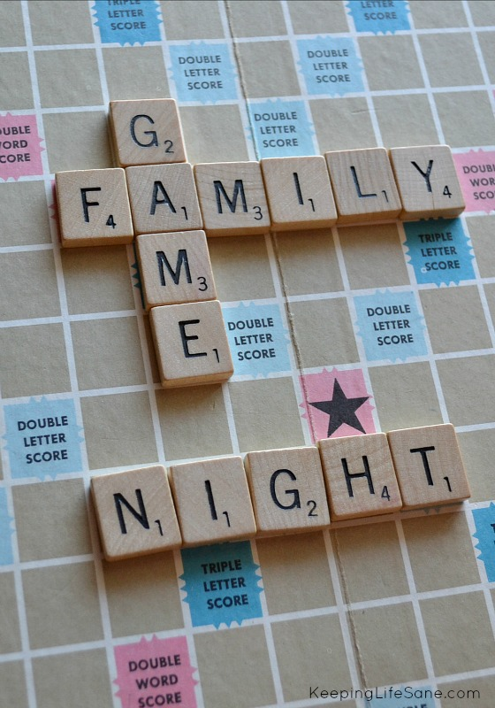 So, sometimes it rains, and rains, and rains some more. Those times call for indoor entertainment. Here are some great ideas for family game night.
