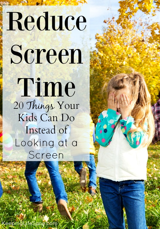 20 Things Your Kids Can Do Instead of Screen Time