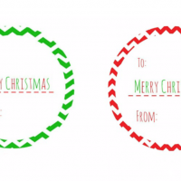 Did you run out of Christmas gift tags? Here are some you can print at home without getting out in the Christmas rush for FREE!
