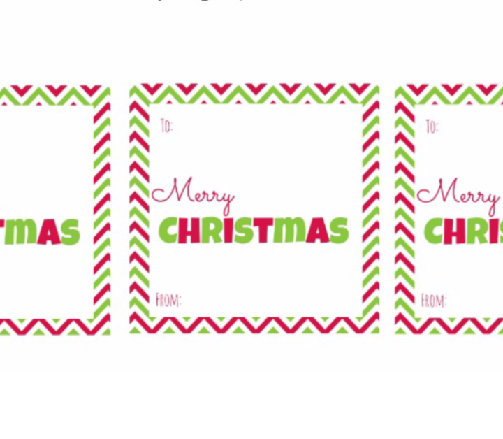 Here are some FREE Christmas Gift Tags (square) that you can print out at home. Your gifts will look great and it doens't cost a fortune.