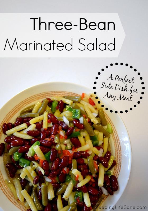 Three Bean Marinated Salad