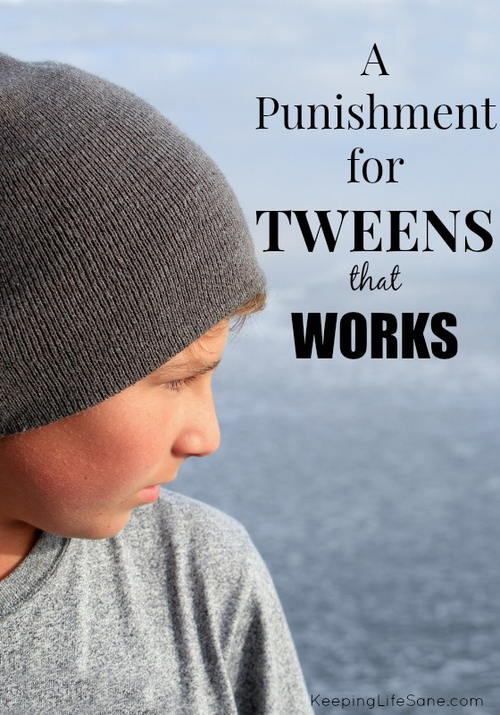 Tweens Punishment