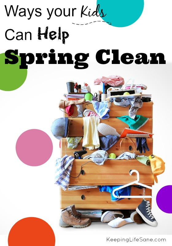 Ways Your Kids Can Help Spring Clean