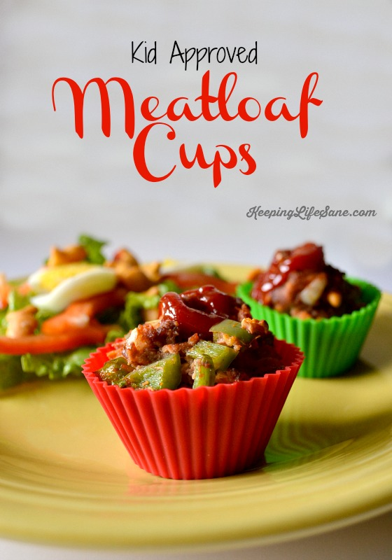 Kid Approved Meatloaf Cups