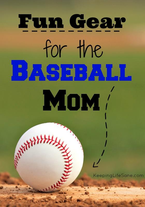 Fun Gear for the Baseball Mom