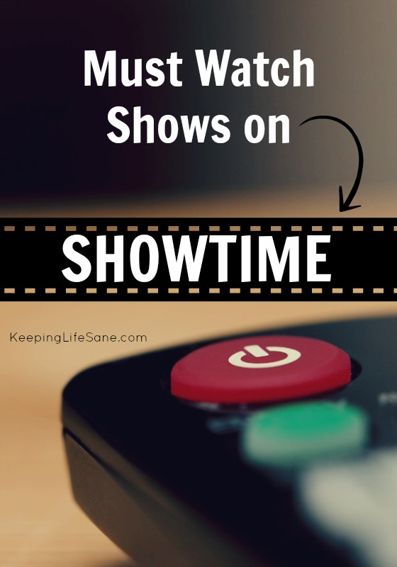 Must Watch Shows on Showtime
