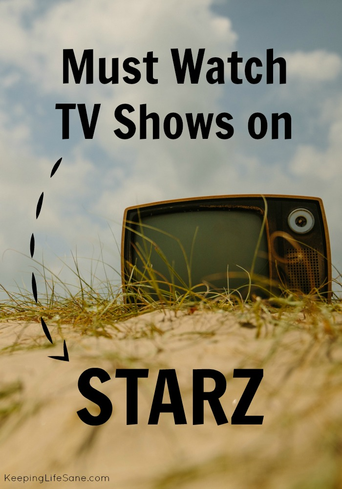 My husband and I are always look for new shows to watch. We can't stand commercials. I found some shows on Starz that you'll want to add to your list.