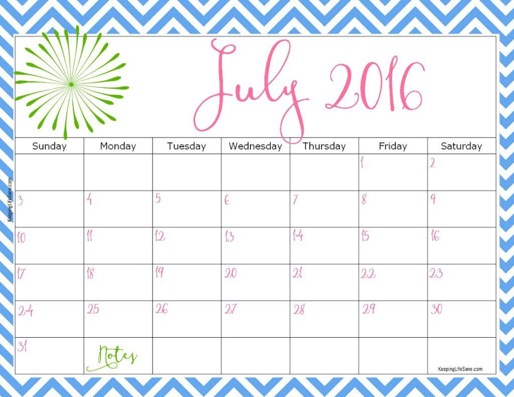 Calendar Girl June Read Free : Free printable calendar keeping life sane