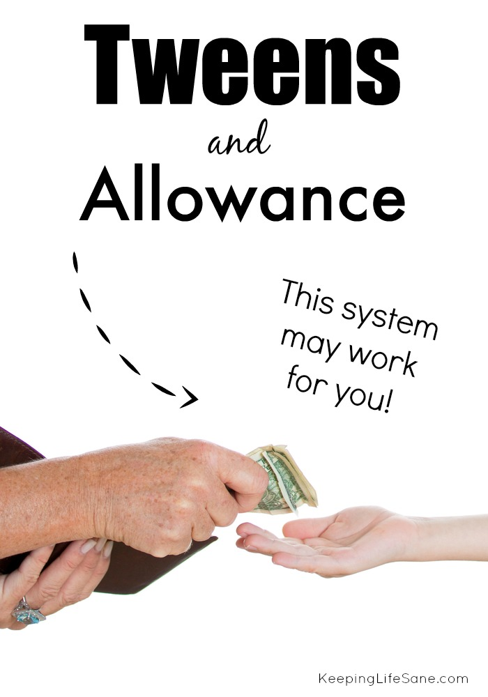 Allowance for Tweens