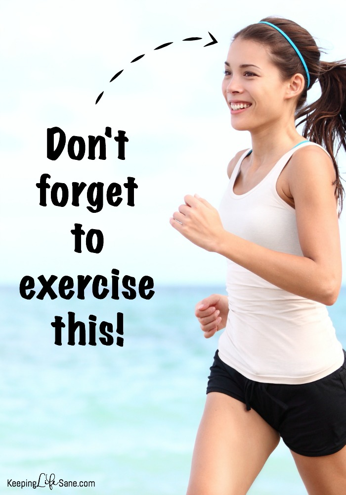 Don't forget to exercise your brain
