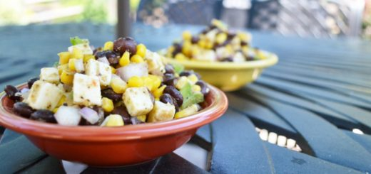 Mexican Corn and Bean Salad